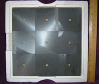Ferrite Tile Mounted On Backer Board